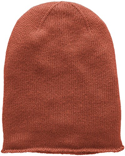 PIECES Damen Strickmütze Pcrose Oversize Cashmere Hood Noos, Braun (Copper Brown), One size