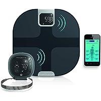 Rowenta YD3091 Body Partner Shape Bilancia Pesapersone Wireless Smart Connessa al Cellulare, con Tracker per Misurazione…