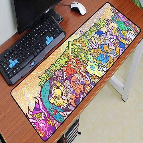 Mauspad Gummi waschbar Computerspiel Computer Tastatur Mauspad 2 700x300x2 -