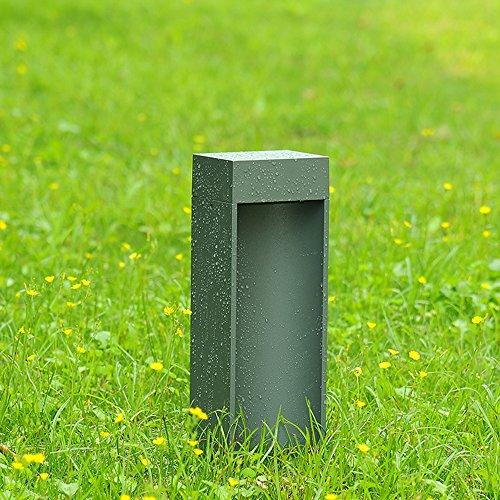 Moderno Sencillo Aluminio Material jardín luces Aire libre Espacios Césped Lámpara Fit...