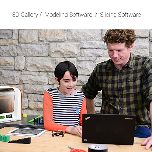XYZ Printing Impresora 3D da Vinci Jr. 1.0 (totalmente ensamblada), nivelado automático