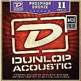 Dunlop DL STR DAP 011/052 Acoustic Phosphor Bronze Medium Light 011/052 Westerngitarresaiten