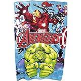 Marvel Avengers Characters Printed Soft Fleece Bed Blanket/ Throw