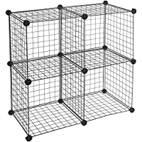 AmazonBasics Cube Wire Storage Shelves