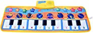 80X28cm Baby Piano Music Play Mat Children Educational Musical Carpet Rug Toys for Kids