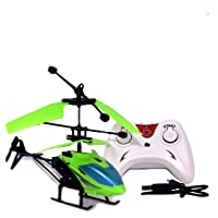 Qualimate Exceed Induction Flight Electronic Radio RC Remote Control Toy Charging Helicopter Toys with 3D Light Toys for Boys Kids (Indoor Flying)