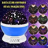 Lmpara-Infantil-GRDE-Regalo-Para-Nias-Lmpara-Proyector-Rotacin-360-Grados-de-Estrellas-y-Cosmos-Iluminacin-Romntica-Luz-Nocturna-Infantil-de-Sobremesa-y-Mesilla-con-Estrella-y-Luna-Decoracin-Noche-Rom