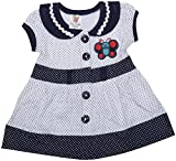Amy Baby Girls Straight Frock (774, NAVY...