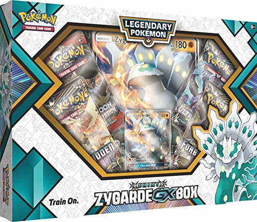 Pokemon TCG: Shiny Zygarde GX Collection