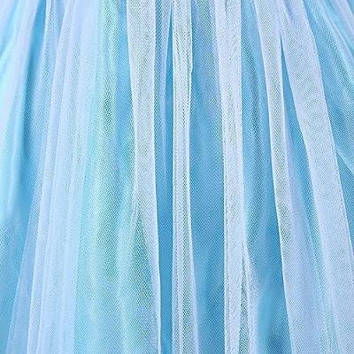 ELSA & ANNA® Princesa Disfraz Traje Parte Las Niñas Vestido (Girls Princess Fancy Dress) ES-FR314 por UK1stChoice-Zone