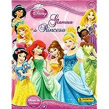 PANINI Princess Glamour Disney Collection Complete Stickers + Album