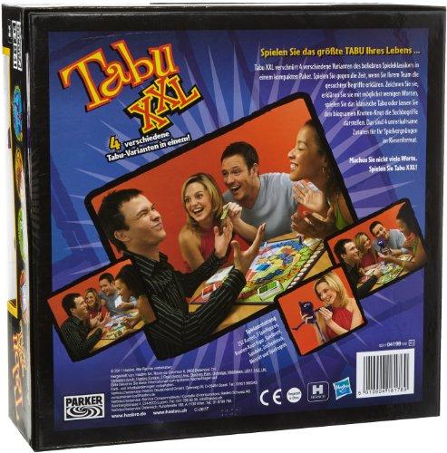 Hasbro Spiele 04199100 - Tabu XXL, Partyspiel - 2