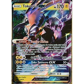 Sl2 153 145 Tokorico Gx Secret Rare Carte Pokemon Neuve