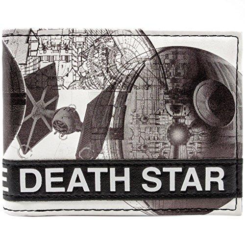 Disney Star Wars TIE Death Star Weiß Portemonnaie Geldbörse