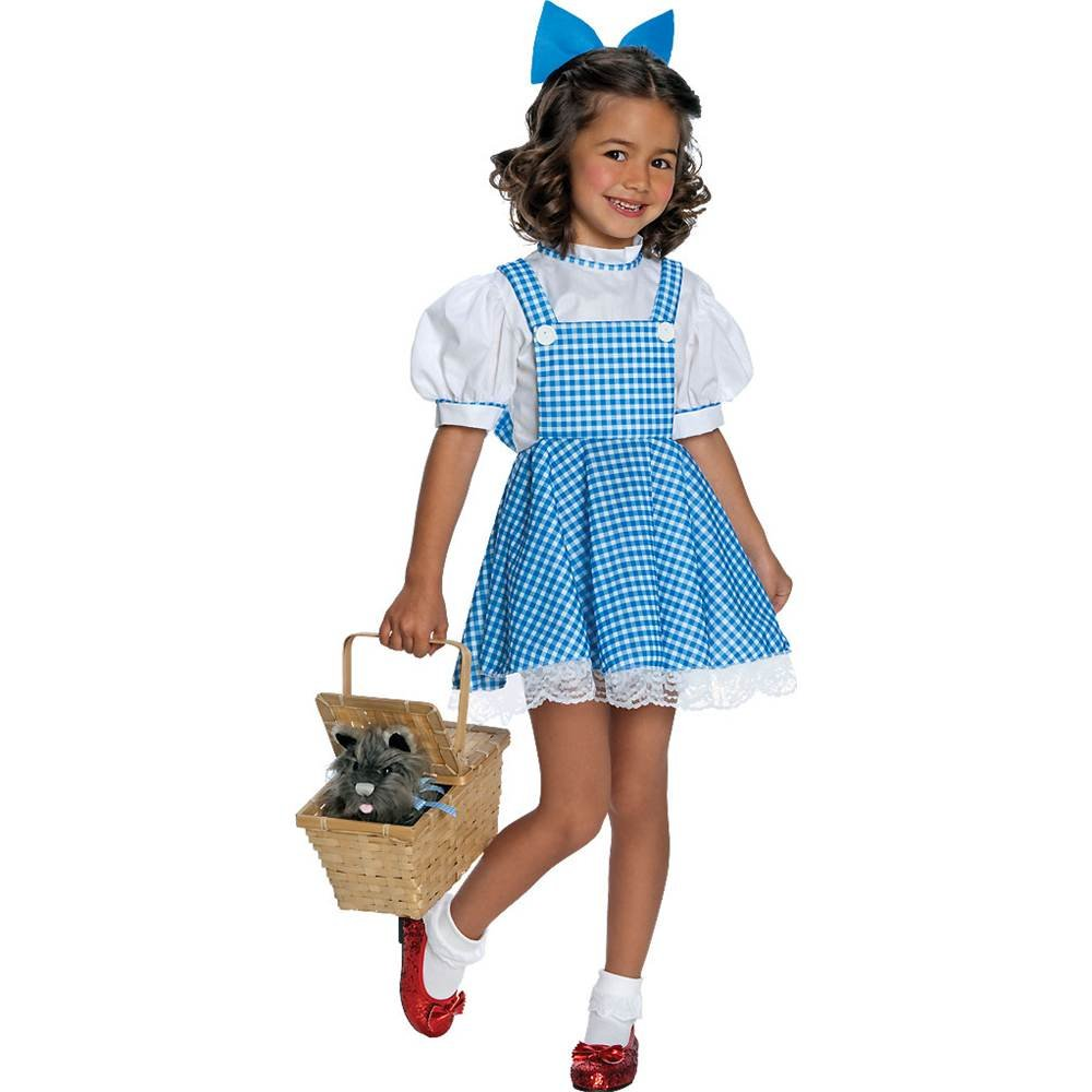 Wizard of Oz tm Dorothy tm Tradition Style Dress & Hair Bow for ...