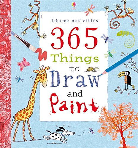 365 Things To Draw And Paint: Activity Cards Spiral Bound Edition (Art Ideas)