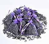 15 Bags of Dried Lavender in Small Lilac Organza Bags -Real Flower Wedding Confetti/Home Fragrance/Crafts /Moth Repellant