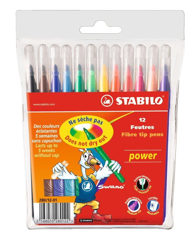 Stabilo POWER Fieltro Punta bolígrafos