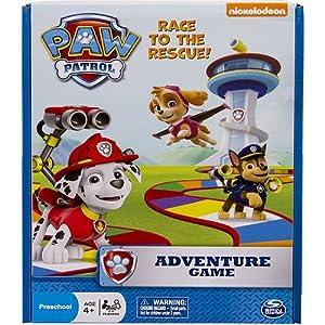 Paw Patrol Preschool Adventure Board Game