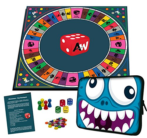 Alleswisser - Das Brettspiel, interaktives Quiz-, Wissens- und Familienspiel mit App für iOS und Android mit Tasche im Comic-Layout (Für Spiele Mädchen 12 Jährige)