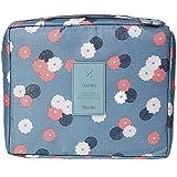 Shopo's Travel Cosmetic Makeup Toiletry Case Wash Organizer Storage Pouch Toiletry Bag Travel Organizer Toiletry...