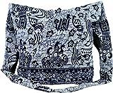 Guru-Shop Sadhu Bag, Schulterbeutel, Hippie Tasche - Blau, Herren/Damen, Baumwolle, Size:One Size,...