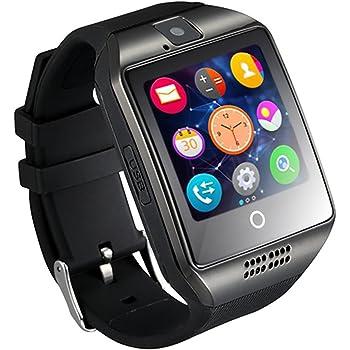 GZDL Q18 Bluetooth reloj inteligente pantalla táctil con cámara Desbloqueado reloj teléfono móvil con tarjeta SIM