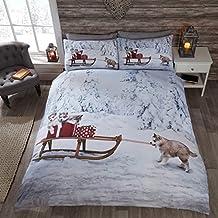 Bettwasche Wintermotiv