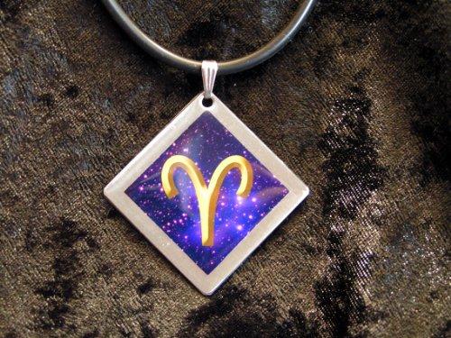 'Collar de signo Símbolo Bold Aries