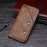 GHC Hüllen, elefone a5, echtes Qualitätsgeschäft Retro Stil flip pu Leder Brieftasche case (Farbe : Braun)