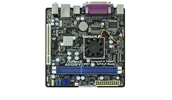 ASROCK AD525PV3 MOTHERBOARD DRIVER DOWNLOAD