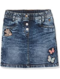 TOM TAILOR Mädchen Rock Cute Denim Skirt with Badges