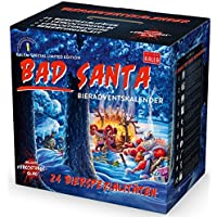 KALEA Bier Adventskalender mit 24 Bieren und 1 exklusivem Verkostungsglas (Edition Bad Santa)
