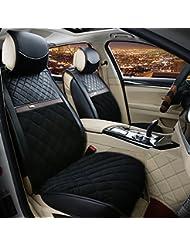 AMYMGLL Autozubehör Vollsitzkissenbezug Standard Edition (7sets) Auto-Universal Down-Four Seasons 5 Farben wählen