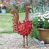 Smart Bertie Hahn Metall Garten Ornament