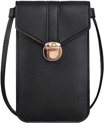 KOPOU Handygeldbörse für Damen 2021, Umhängetasche, Handygeldbörse mit Schultergurt, Handtaschentasche, Schultertasche, Beutel
