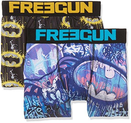 Freegun Justice League Freegun Justice Leagueboxer Packx2, Bóxer para  Niñas, Mehrfarbig (Multicolor A17