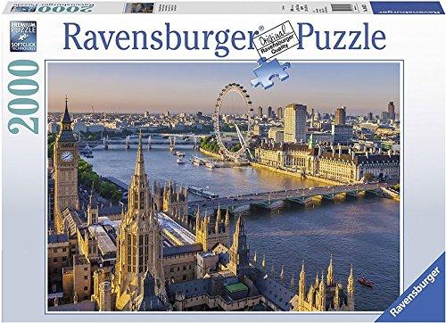 Ravensburger 16627 – Stimmungsvolles London Erwachsenenpuzzle