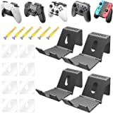 OIVO Game Controller Holder Hanger Wall for PS4 Nintendo Xbox One/S/X/Elite/Series S/Series X, Universal Foldable Desk…