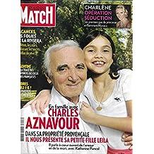 PARIS MATCH N°3247 11 AOUT 2011 CHARLES AZNAVOUR/ CHARLENE DE MONACO/ BILL CLINTON & LEWINSKY/ CANAL DU MIDI/ KATE MOSS/ PEDRO ALMODOVAR/ VACANCES TERROIR PAYS BASQUE-PYRENEES/ VACANCES DE STARS/ LONDRES BRULE