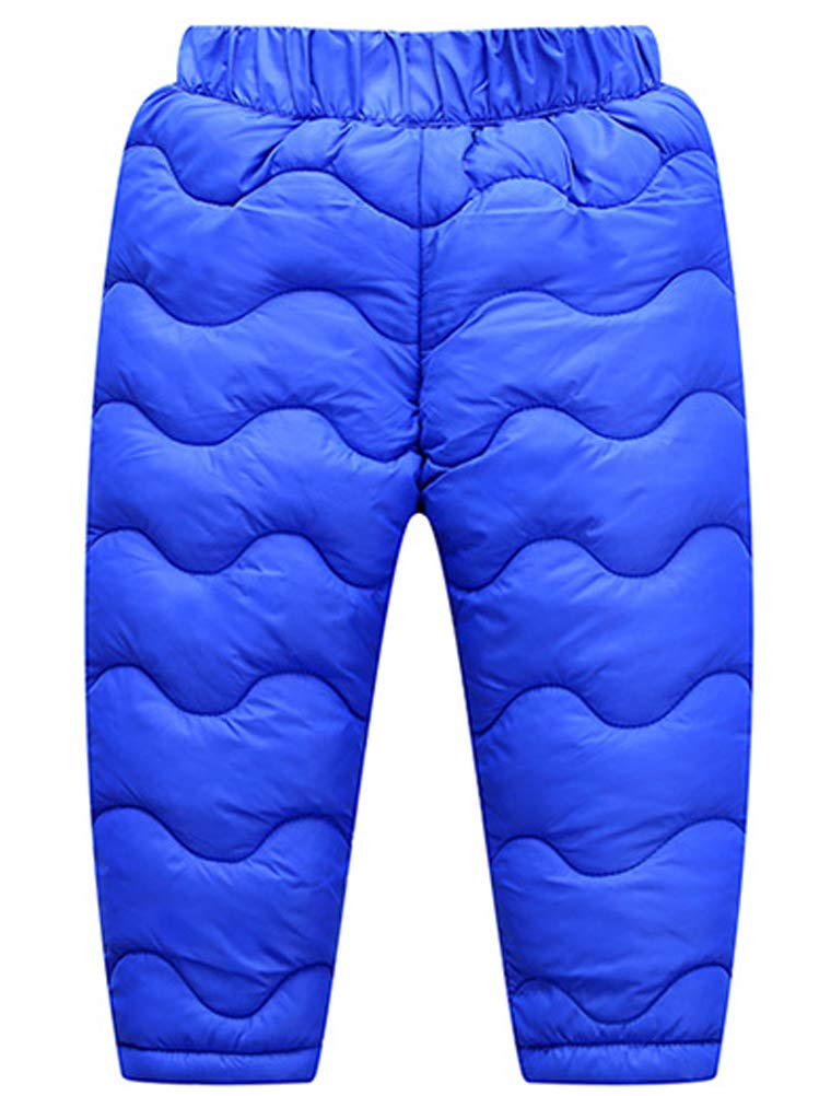 Odziezet Pantalones Esquí Niños Niñas Grueso Plumas Plumon Calientes 1-7 Años 1