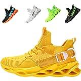 Zapatillas de Deportes Hombre Mujer Zapatos Deportivos Running Zapatillas para Correr Ligero y con Estilo Negro Blanco Gris D