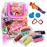 #3: Akhand 18 Color Sticks Clay for Kids to play with 4 Shape Moulds