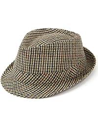 4ad31b9c400 Amazon.co.uk  Hawkins - Fedoras   Trilby Hats   Hats   Caps  Clothing