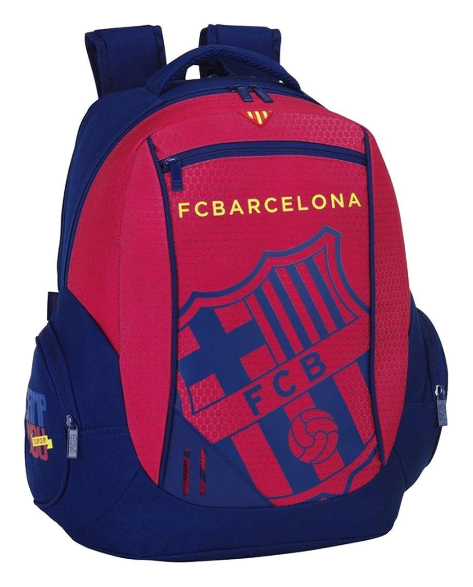 61tkCPpLgnL - Safta 077067 F.C. Barcelona Mochila Tipo Casual, Color Azul y Granate