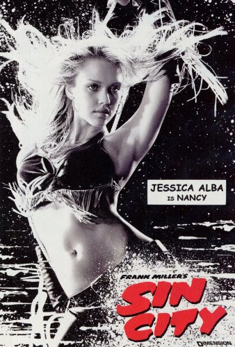 Sin City Plakat Movie Poster (27 x 40 Inches - 69cm x 102cm) (2005) C