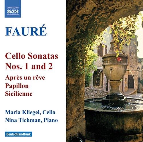 Faure: Cello Sonatas Nos. 1 and 2 / Elegie / Romance (Sonata Faure-cello)