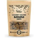 Flavours of Calicut - Jaggery Coated Banana Chips (Sharkara Upperi/ Sharkara Varatti) - 500g