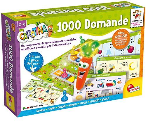Lisciani Giochi- LSI Carotina Penna Parl.1000 Domand 49363, Multicolore, 859143