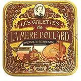 La Mère Poulard Demi-Coffret Collector Galettes Caramel 250 g - Lot de 2